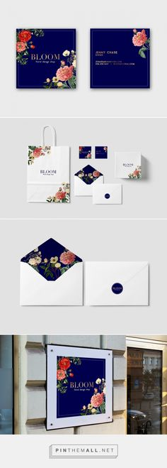 Bloom Floral Branding | With Love, Amanda  | Fivestar Branding – Design and Branding Agency & Inspiration Gallery