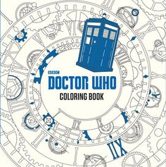 First, there was the Harry Potter coloring book for adult, and now, a Doctor Who version is coming out!  Planets, galaxies, villains, heroes, the Doctor,