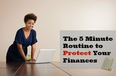 The 5 Minute Routine That Could Protect You From Fraud
