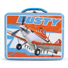 Disney Planes Tin Lunch Box [Dusty]