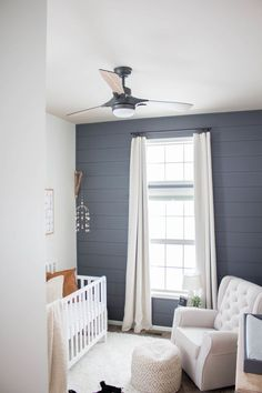 boy nursery Shiplap Wall - Baby Boy Kindergarten # Baby Gardens To gard Baby Boys, Baby Boy Rooms, Baby Boy Nurseries, Nursery Boy, Baby Room Decor For Boys, Kids Room, Baby Room Wall Decor, Boy Nursery Themes, Carters Baby