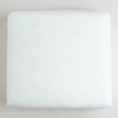 Occasional Chair Cushion Insert poly white 22.44wx21.85dx4.33h 17.49