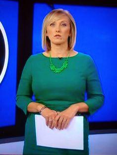 Martine Croxall - BBC News Channel.