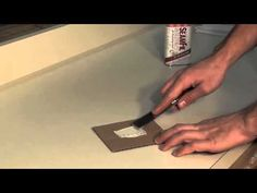 How to Repair Minor SOS Scratches in Formica table and counter tops