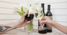 Wine is proven to be heart healthy, but make sure your evening glass of Pinot isn't harming your teeth #wine