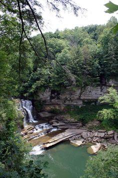 The Best Waterfalls on Tennessee's Cumberland Plateau. #MakeSummerLast