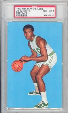 1973-74 NBA Players Association Postcard JO JO WHITE . $47.00. Beautiful, postcard size issue, NBA PA Licensed