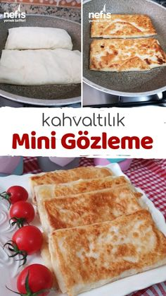How To Make Breakfast Pie (Mini Pancake) Recipe? Illustrated explanation of this recipe in the book Turkish Recipes, Ethnic Recipes, Breakfast Pie, Mini Pancakes, Wie Macht Man, Iftar, Homemade Beauty Products, Bread Baking, Bakery