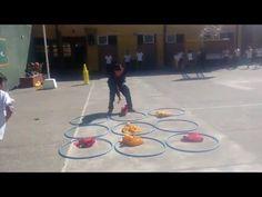 Juegos Educación Física - TIC TAC TOE - YouTube