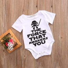 Cheap baby bodysuit short sleeve, Buy Quality baby cotton bodysuits directly from China baby bodysuit unisex Suppliers: New HOT Newborn Star Wars Baby unisex short sleeves Clothes Cotton Cotton Bodysuit Playsuit Sunsuit Outfits Baby Boy Romper, Baby Boy Newborn, Baby Kids, Baby Onesie, Baby Boy Shirts, Newborn Onesies, Star Wars Tattoo, Funny Babies, Cute Babies
