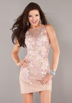 Jovani Cocktail Dress 816 at Peaches Boutique