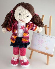 Muñeca dibujando