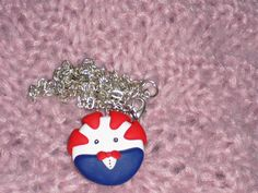 Peppermint Butler Necklace by TheHappyFactory118 on Etsy, $7.00