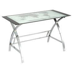 11519 wayfair lumisource world map office writing desk dimensions powell furniture world map writing desk gumiabroncs Images