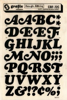 typography Cooper Black Fancy - I had these! As a kid! Hand Lettering Fonts, Types Of Lettering, Vintage Typography, Typography Letters, Japanese Typography, Logo Vintage, Vintage Fonts, Creative Lettering, Lettering Styles