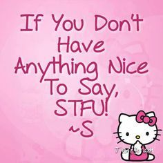 bad hello kitty quotes - Google Search