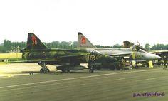 "Royal Swedish Air Force SAAB J-37 ""Viggens"""