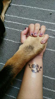 Please visit our website for Small Dog Tattoos, Memorial Tattoos Small, Tattoos For Dog Lovers, Weird Tattoos, Mom Tattoos, Pretty Tattoos, Body Art Tattoos, Tattoos Skull, Tattos