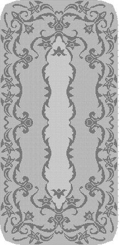 Crochet Angel Pattern, Crochet Bikini Pattern, Crochet Doily Patterns, Crochet Doilies, Crochet Tablecloth, Oval Tablecloth, Filet Crochet Charts, Fillet Crochet, Crochet Magazine