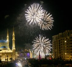 LEBANON, BEIRUT, NEW YEARS