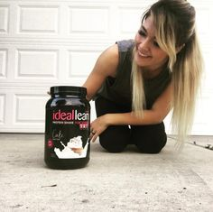 """Have your cake and eat it too!! Taking protein immediately after your workout is critical for a quick recovery and muscle protection! That's why I LOVE @idealfit's Cake Batter Protein shake! It has 20 grams of protein per serving, and 18 amino acids to promote healing and muscle growth!   It makes for a delicious, guilt free treat and HAS SPRINKLES. Are you kidding me? #therealdeal #legit IdealFit is having special pricing on all their recovery stacks so I mean, go. Go now. IdealFit.com…"