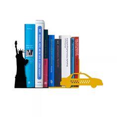 Suporte Aparador De Livros Apoio Cd - Dvd - Nova York Táxi - R$ 39,90 em Mercado Livre