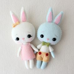 Kit de bolsillo Bunny patrón del mazapán