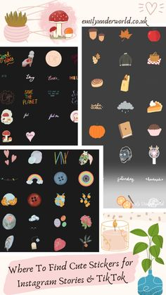 where to find cute stickers for instagram stories and tiktok Going Back To School, More Cute, Cute Stickers, Digital Illustration, Instagram Story, The Creator, My Design, Photoshop, My Favorite Things
