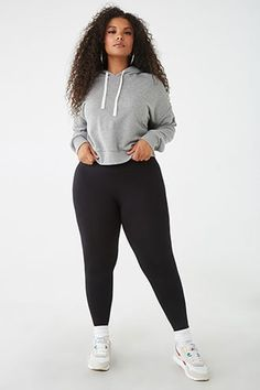 workout clothes plus size & workout clothes ; workout clothes plus size ; workout clothes for men Plus Size Legging Outfits, Plus Size Fall Outfit, Dress Plus Size, Plus Size Leggings, Knit Leggings, Outfits With Tights, Tribal Leggings, Running Leggings, Black Leggings