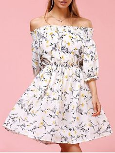 SHARE & Get it FREE | Sweet Off The Shoulder Floral Print DressFor Fashion Lovers only:80,000+ Items • New Arrivals Daily • FREE SHIPPING Affordable Casual to Chic for Every Occasion Join RoseGal: Get YOUR $50 NOW!