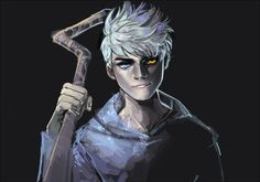 Jack Frost and his dark side. Ascending into darkness. Dark Jack Frost, Jack Frost And Elsa, Jackson Overland, Disney Hogwarts, William Joyce, Guardians Of Childhood, Rise Of The Guardians, The Big Four, Jelsa