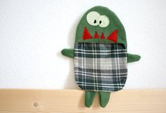 Harry hot water bottle cover by HappyMonstersLand on Etsy, $26.00