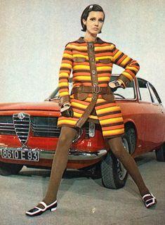 1960s - Emanuel Ungaro & Alfa Romeo