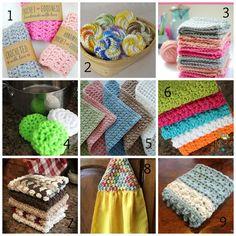 Washcloth, Tawashi & Dishcloth Patterns Roundup