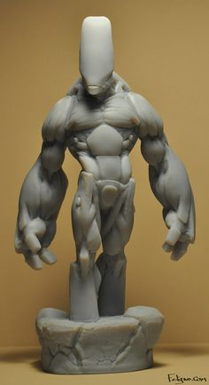 3D Printed Characters by Jeff Feligno, via Behance
