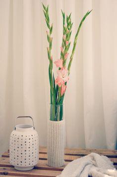 Granny Glamour-artes y la decoración: Florero DIY calentamiento
