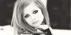 Black and White edits smile bw avril lavigne Avril avril lavigne gifs