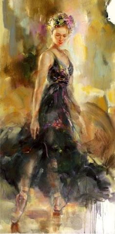 Large Spanish dancer painting painted picture high quality hand Flamenco Dancer oil painting dancing canvas for wall decoration Art And Illustration, Anna Razumovskaya, Art Watercolor, Kunst Online, Ballet Art, Beautiful Paintings, Love Art, Female Art, Painting & Drawing