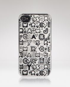 MARC BY MARC JACOBS iPhone 4 Case - 4G Dreamy Graffiti Metallic | Bloomingdale's