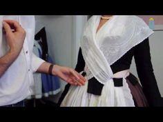 Col·locació del mocador de pit - CAP 9 Col·locació creuat per dins - YouTube