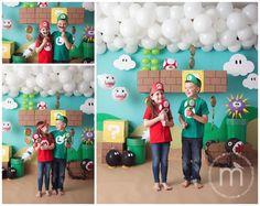 Aylah's Mario Party Super Mario Birthday, Mario Birthday Party, Super Mario Party, Super Mario Bros, Birthday Party Themes, 5th Birthday, Princess Peach Party, Mario E Luigi, Mario Kart