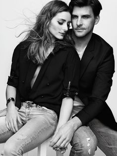 Olivia Palermo and Johannes Huebl by Benoit Peverelli for Madame Figaro France May 2015.