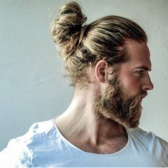 @gracieloue , it's your sexy bearded bun man;D                                                                                                                                                     More