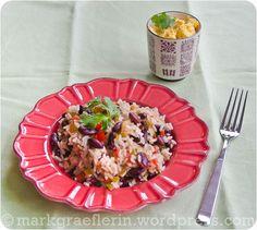 Brazil 2014 kulinarisch: Costa Rica – Gebratene rote Bohnen mit Reis und Ei