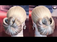 "Hairstyle with elastic - ""Mon petit ange"" ❤ - Hairstyles by REM - YouTube"