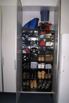 You can never have too many #shoes w/ this #garage #storage system. www.closetsbydesign.com 1-800-293-3744