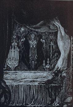 Ligeia. Alberto Martini: Edgar Allan Poe – Illustrations