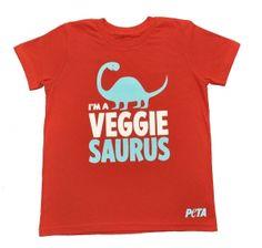 Veggiesaurus Kid's T-Shirt!!!