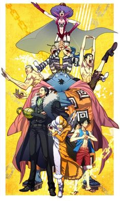 Impel Down Team   One Piece
