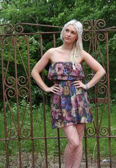 Strapless Vintage Summer Dresses